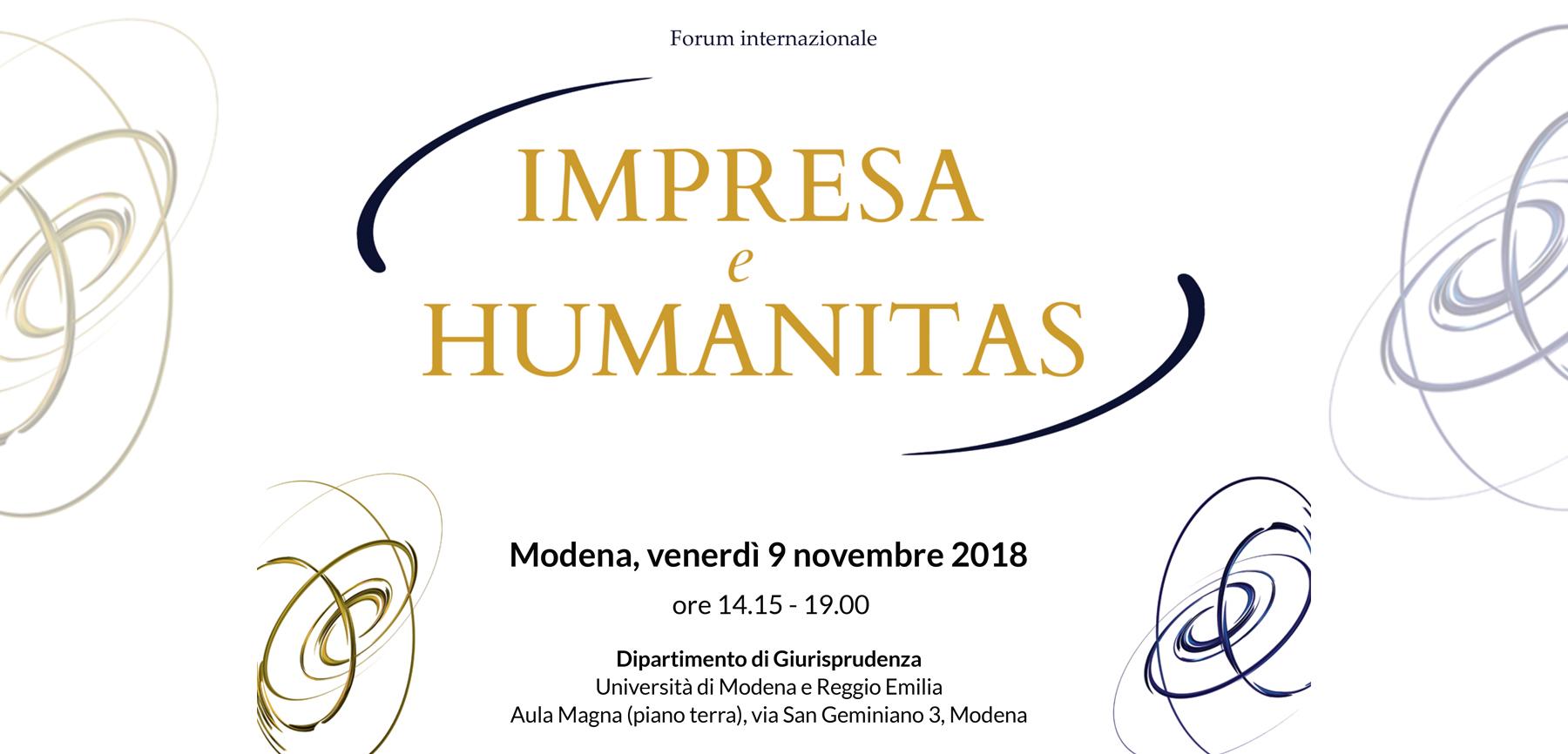 Forum internazionale Impresa e humanitas